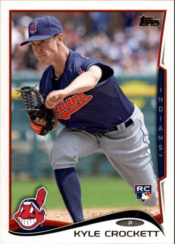 Photo of 2014 Topps Update #US121 Kyle Crockett Rookie Card -- Indians post-season
