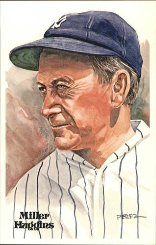 Photo of 1980-02 Perez-Steele Hall of Fame Postcards #98 Miller Huggins -- Set #08689