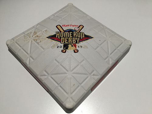 Photo of Game-Used Base from 2011 Home Run Derby - July 11, 2011 at Chase Field