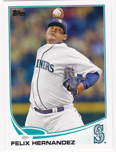 Photo of 2013 Topps #34A Felix Hernandez