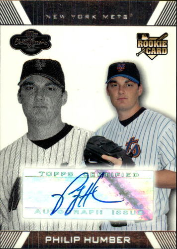 Photo of 2007 Topps Co-Signers #109 Philip Humber AU (RC)