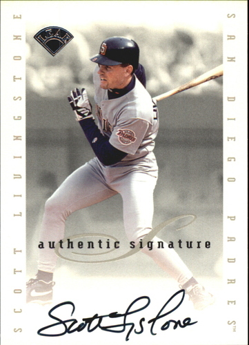 Photo of 1996 Leaf Signature Extended Autographs #109 Scott Livingstone