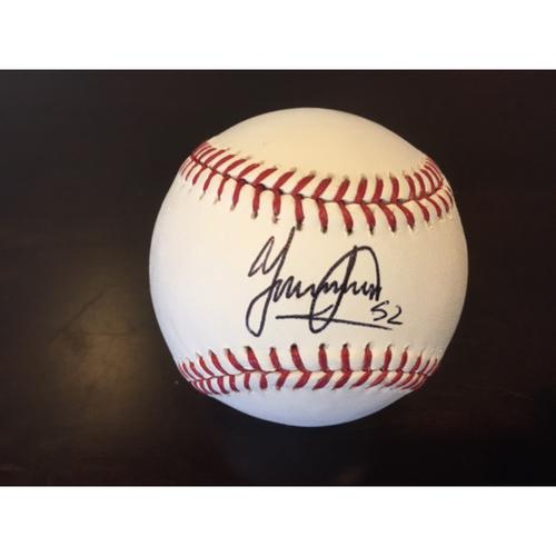 Photo of Giants Community Fund: Yismiero Petit Autographed Baseball