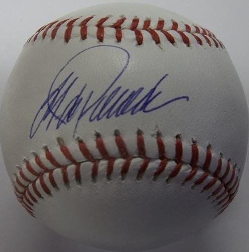 Photo of Jorge Posada Autographed Baseball