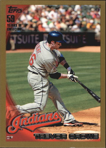 Photo of 2010 Topps Gold Border #646 Trevor Crowe