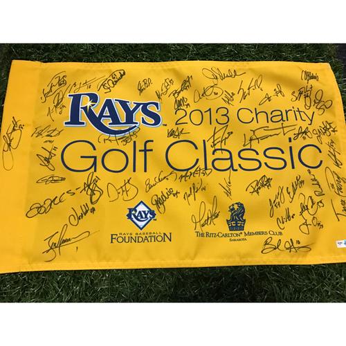 Photo of 2013 Autographed Team Golf Flag