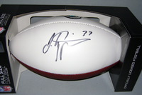 JAGUARS - JOHNATHAN CYPRIEN SIGNED PANEL BALL W/ JAGUARS LOGO