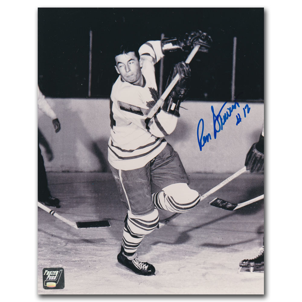 Ron Stewart (deceased) Autographed Toronto Maple Leafs 8X10 Photo