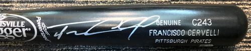 Photo of Francisco Cervelli Autographed Bat