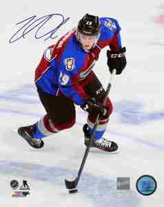 Nathan MacKinnon - Signed 8x10 Photo - Coloardo Avalanche Action Shot