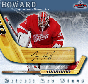 JIMMY HOWARD Signed Warrior Goal Stick - Detroit Red Wings