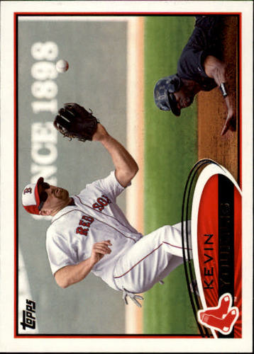 Photo of 2012 Topps #160 Kevin Youkilis