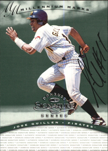 Photo of 1997 Donruss Signature Autographs Millennium #57 Jose Guillen