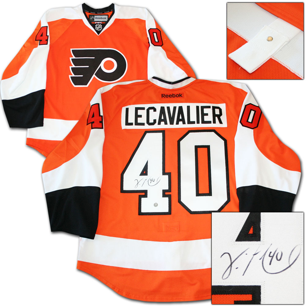 Vincent Lecavalier Autographed Philadelphia Flyers Authentic Pro Jersey