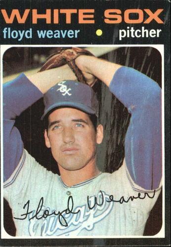Photo of 1971 Topps #227 Floyd Weaver