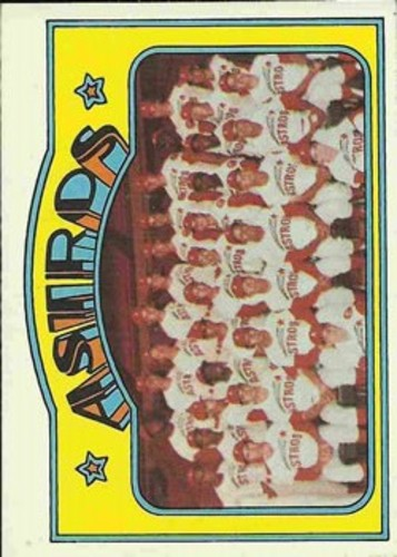 Photo of 1972 Topps #282 Houston Astros TC