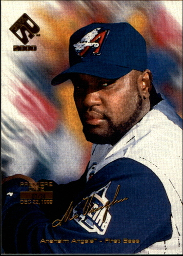 Photo of 2000 Private Stock Premiere Date #4 Mo Vaughn