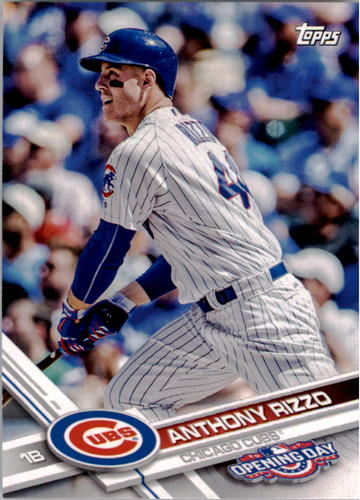 Photo of 2017 Topps Opening Day #96A Anthony Rizzo