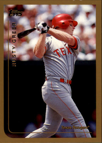 Photo of 1999 Topps #128 Rusty Greer