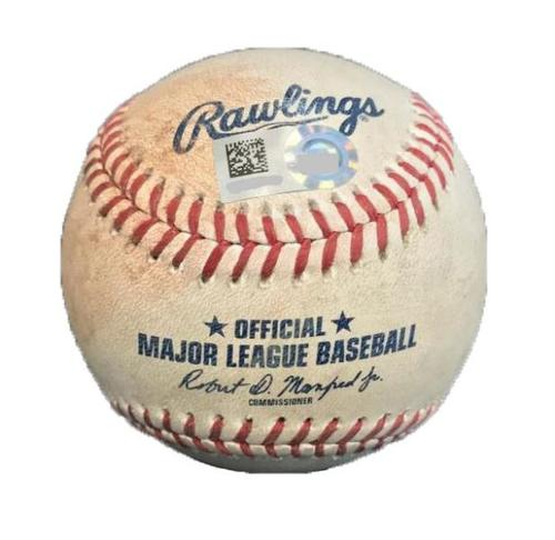 Photo of Game-Used Baseball from Pirates vs. Cardinals on 7/15/17 - Lynn to Frazier, Ball