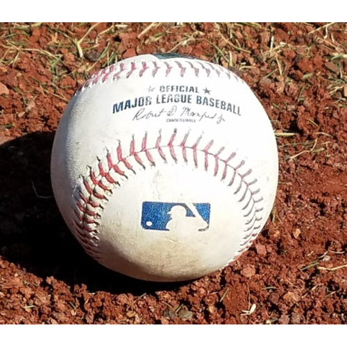 Photo of 2017 Game-Used Baseball: Aaron Altherr Grand Slam At-bat (Pitched for a ball)