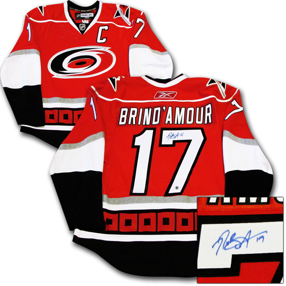 Rod Brind'Amour Autographed Carolina Hurricanes Authentic Pro Jersey