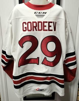 Fedor Gordeev #29 19/20 Game Worn Jersey