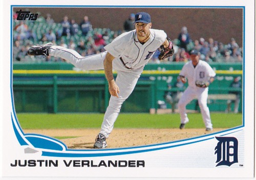 Photo of 2013 Topps #35 Justin Verlander