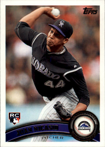 Photo of 2011 Topps Update #US203 Juan Nicasio RC