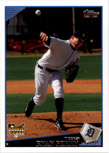 Photo of 2009 Topps #451 Ryan Perry RC