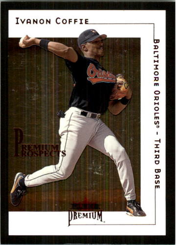 Photo of 2001 Fleer Premium Star Ruby #214 Ivanon Coffie