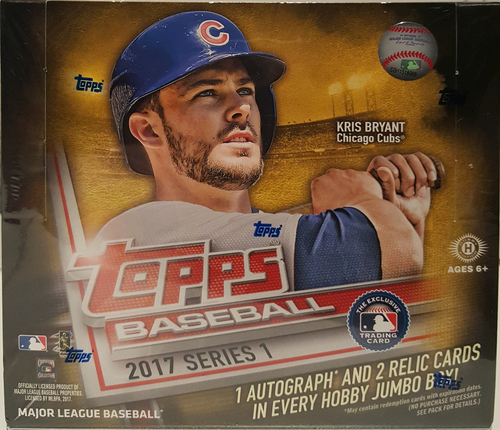 Photo of 2017 Topps Baseball Series 1 Jumbo Box