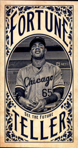 Photo of 2017 Topps Gypsy Queen Fortune Teller Mini #FTYM Yoan Moncada