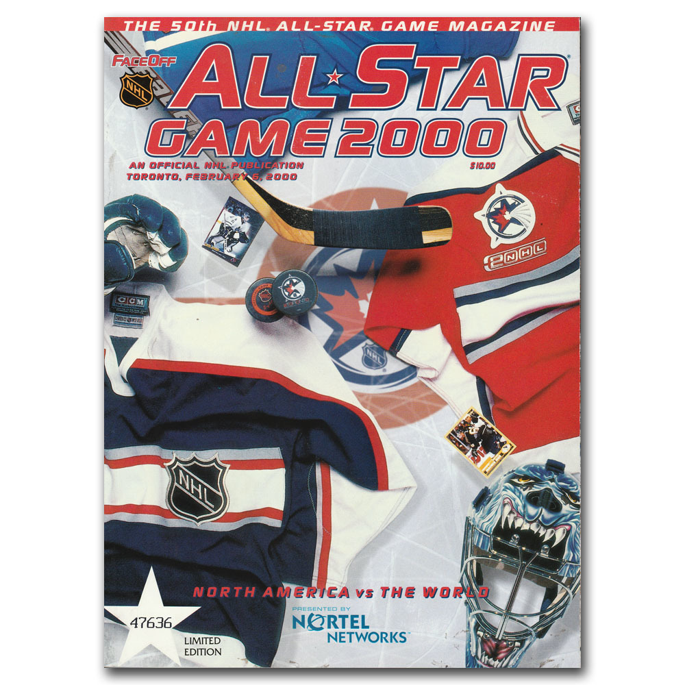 2000 NHL All-Star Game Official Game Program