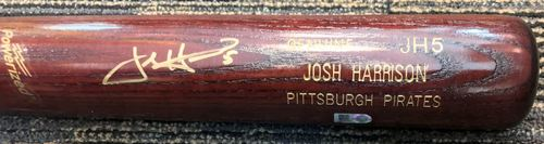 Photo of Josh Harrison Autographed Bat