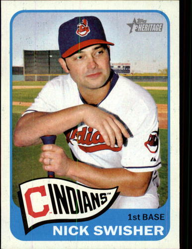 Photo of 2014 Topps Heritage #399 Nick Swisher