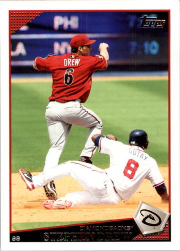 Photo of 2009 Topps #345 Stephen Drew