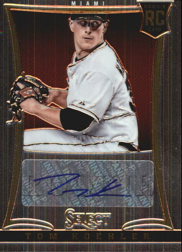 Photo of 2013 Select #217 Tom Koehler AU/750 RC