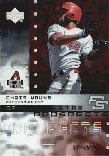 Photo of 2007 Upper Deck Future Stars All Star Futures #CY Chris Young