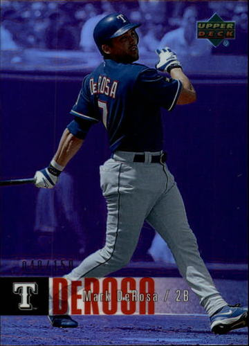 Photo of 2006 Upper Deck Special F/X Purple #840 Mark DeRosa /150