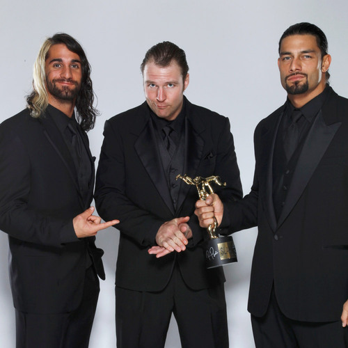 The Shield SIGNED WWE Replica Slammy Award