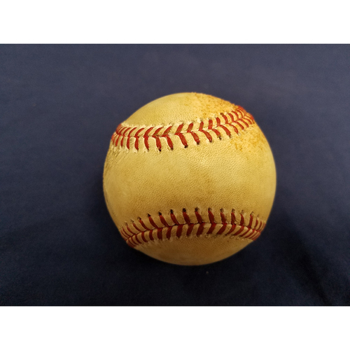 Photo of Cameron Maybin Game-Used Home Run Baseball May 22nd 2017 vs. Tampa Bay Rays