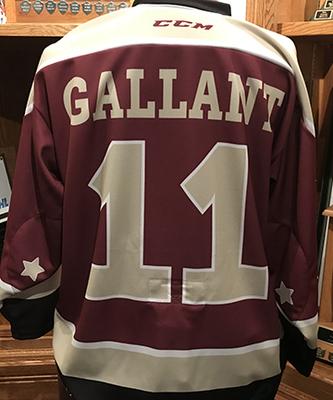 Zach Gallant (#11) - Petes Alumni Homecoming Jersey