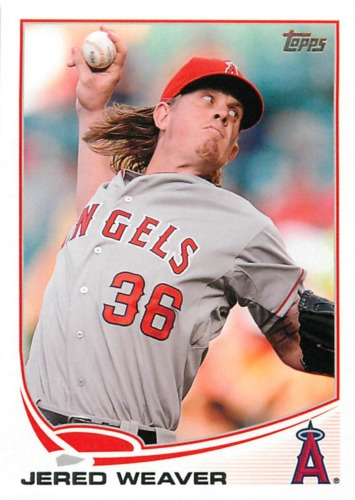 Photo of 2013 Topps #36 Jered Weaver