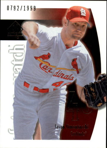 Photo of 2002 SP Authentic #104 Jason Simontacchi FW RC
