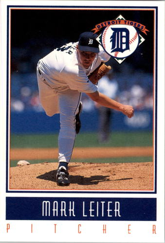 Photo of 1993 Tigers Gatorade #18 Mark Leiter