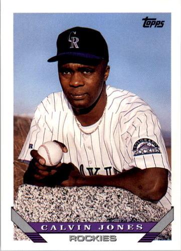 Photo of 1993 Topps #664 Calvin Jones
