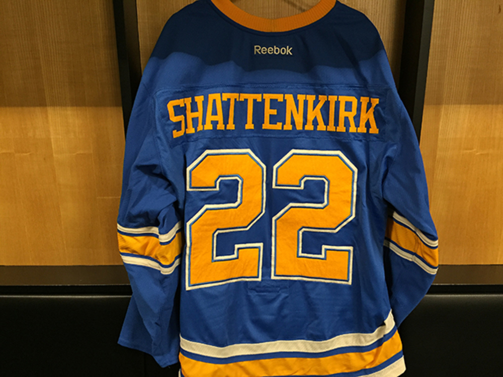 Kevin Shattenkirk Winter Classic Game-worn Jersey