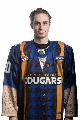 CURTIS, Josh (#10) - Autographed, Game Worn Lumberjack Jersey