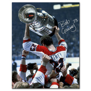 Bob Gainey Montreal Canadiens CHAMPION Autographed 8x10